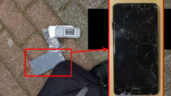 Dutch officials said Morenets had tried to break a smartphone he was carrying.