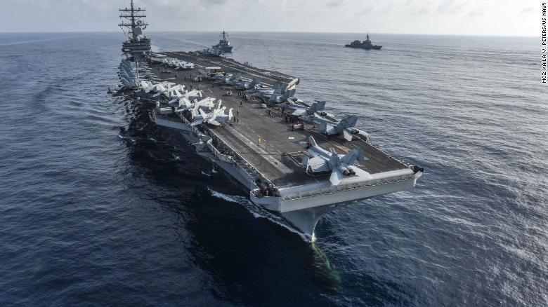 Analysis: US Navy deployment could leave an aircraft carrier-sized gap in Asia's tense waters