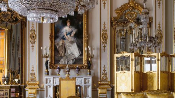 White Drawing Room, Buckingham Palace, by Ashley Hicks