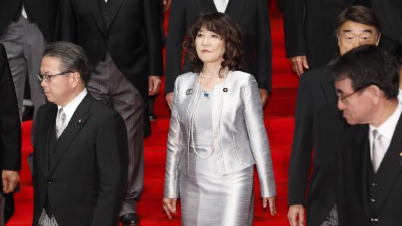 Satsuki Katayama is the sole woman in Japan