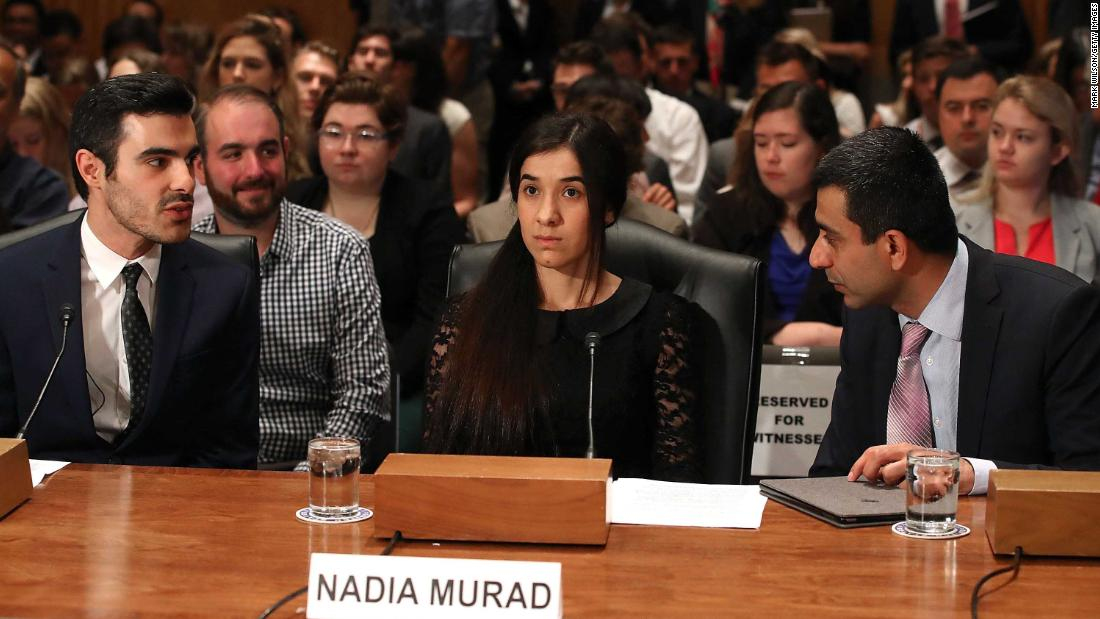 Nadia Murad, from ISIS sex slave to global human rights campaigner