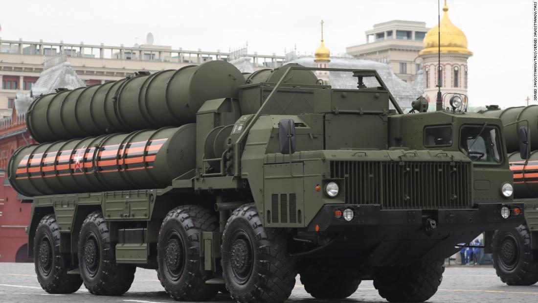 Pentagon condemns Turkey's reported test of Russian-made missile system