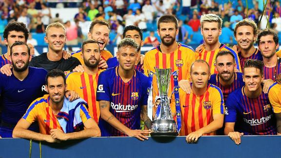 Relevant organize the annual International Champions Cup pre-season tournament which Barcelona won in 2017.