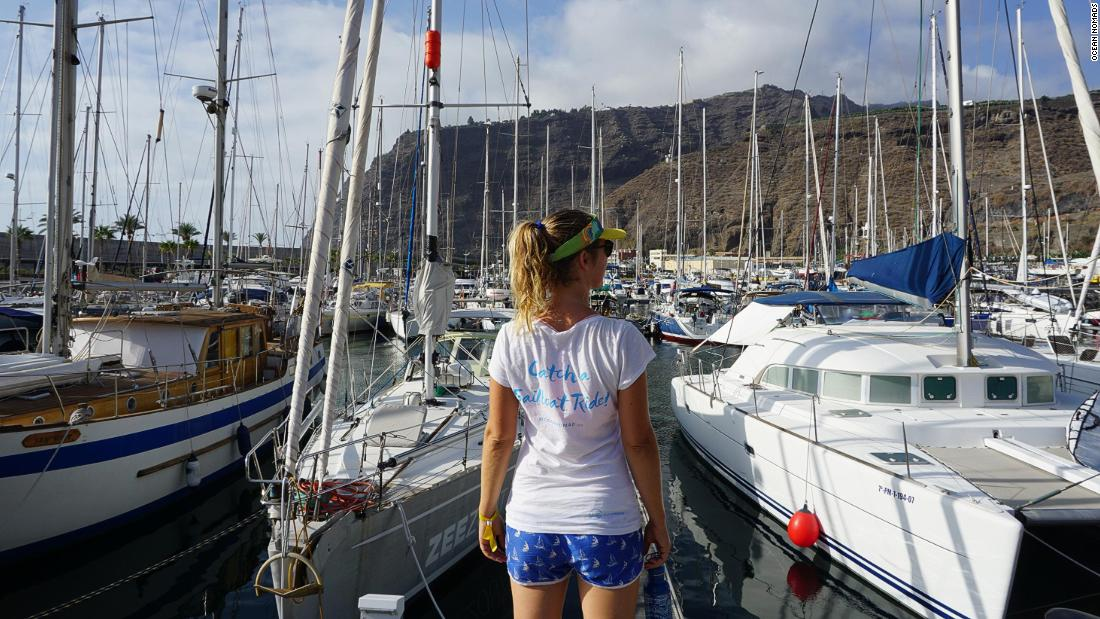 To hitch a ride on a sailing boat, you can either hang out in the marina and see what's available, or there are plenty of online forums that help connect captains with crew.