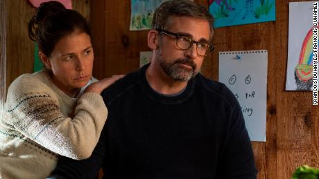 Maura Tierney, Steve Carell in 'Beautiful Boy'