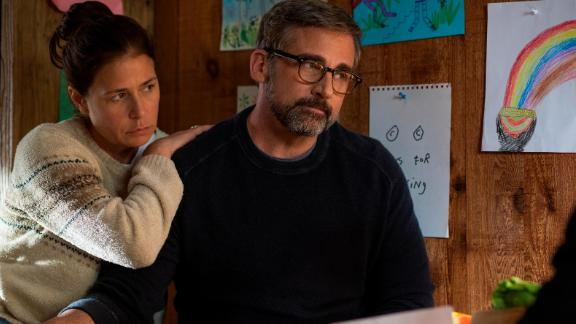 Maura Tierney, Steve Carell in 'Beautiful Boy'