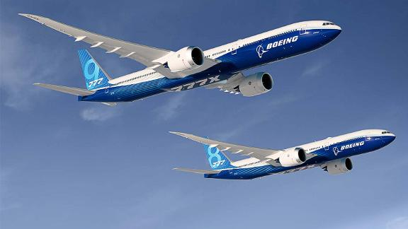 Boeing 777X-8 and Boeing 777X-9