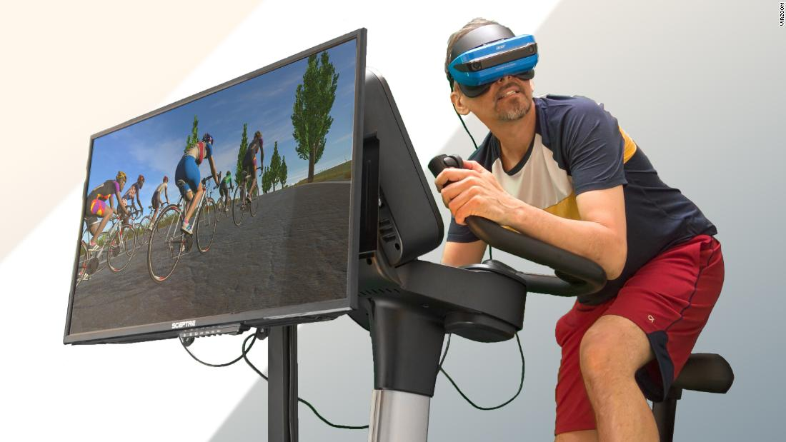 Bored of exercise bikes? This company wants to make them more fun