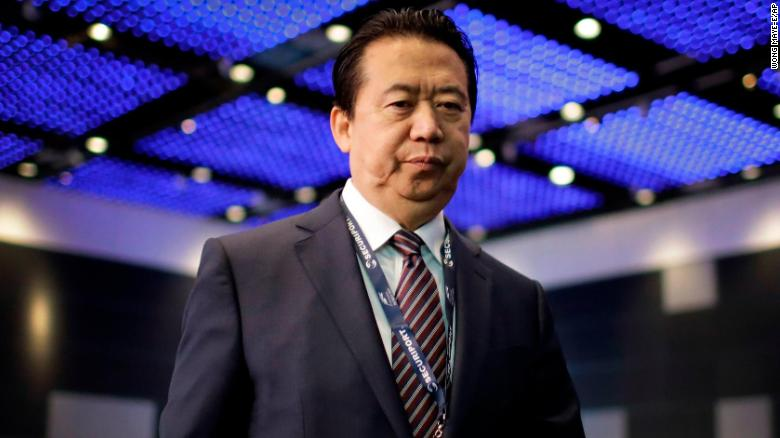 Police probe Interpol president disappearance