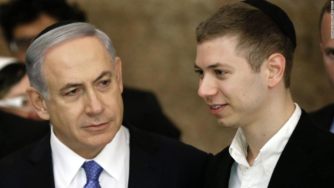Netanyahu's son banned temporarily from Facebook over 'hate speech'