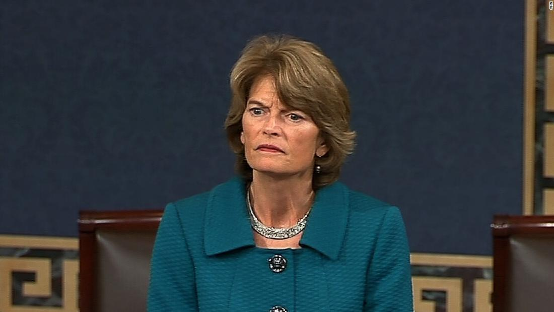 Murkowski ultimately withdrew