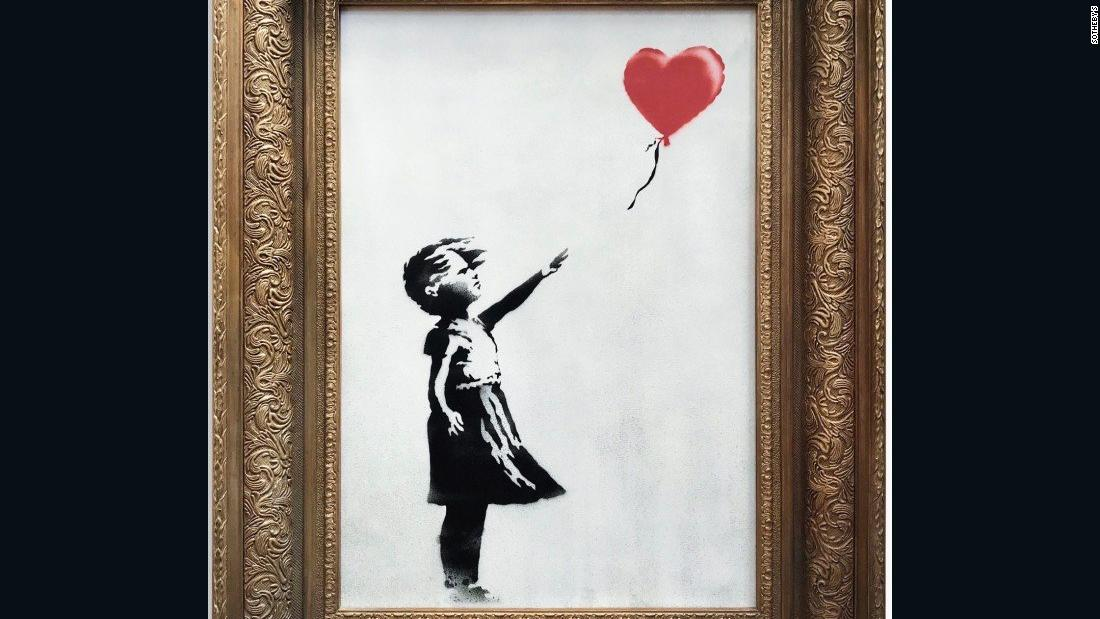 Banksy suggests self-destruct stunt didn't go as planned