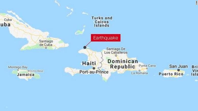 Haiti Earthquake Magnitude 5 9 Temblor Hits Island Cnn