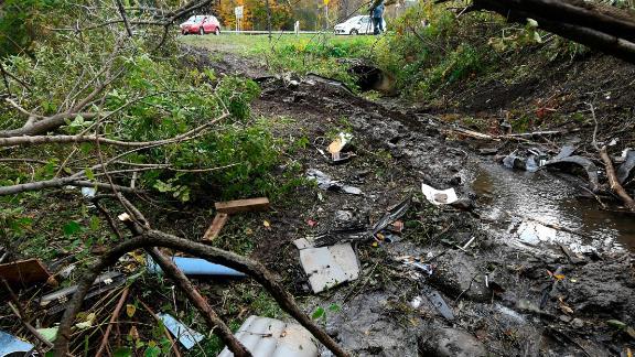 The scene of a fatal crash in Schoharie.