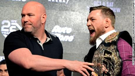 "According to White, he and McGregor communicate ""every day""."