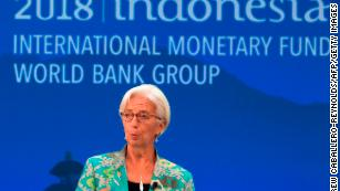 IMF chief Christine Lagarde has warned about the dangers of intensifying trade conflicts.