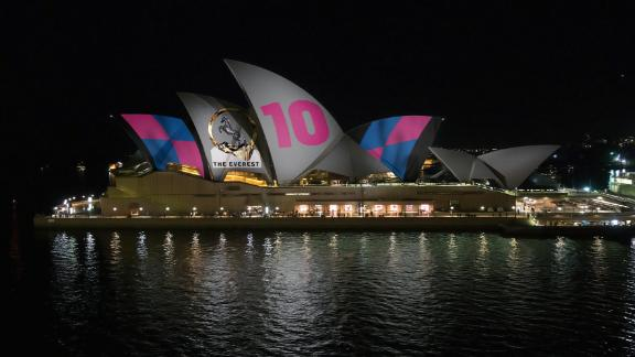 A plan to light up the Sydney Opera House to advertise the upcoming Everest Cup horse race has sparked controversy.