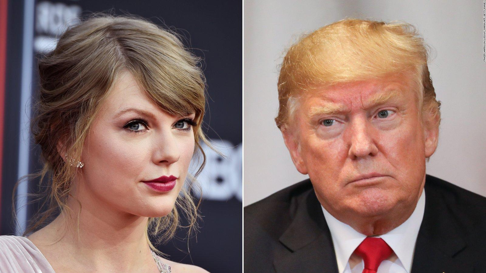 Taylor Swift Calls Out Trump Over Late Night Minnesota Tweet You Have The Nerve To Feign Moral Superiority Before Threatening Violence Cnnpolitics Taylor swift twitter videos and latest news articles; trump i like swift s music about 25 less now