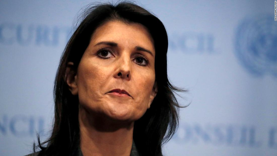 nikki haley resigns cnnpolitics