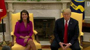 Trump's big announcement on Nikki Haley
