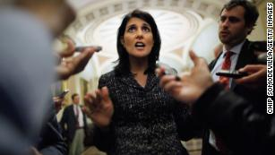 Haley exits on her own terms, but some question her timing
