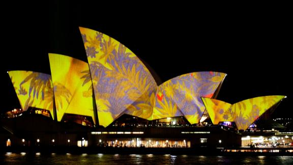 The Opera House has a long history of being lit up -- on this occasion for the Vivid Festival in 2010.
