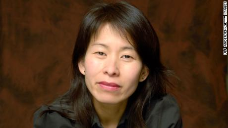 Writer Kim Thuy during a portrait session in Paris in 2010.