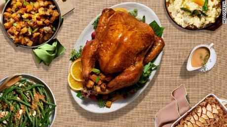 Thanksgiving Recipe Ideas Hellofresh S Recipe Box Makes