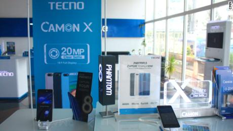 Chinese smartphone giant Tecno is dominating the African market with