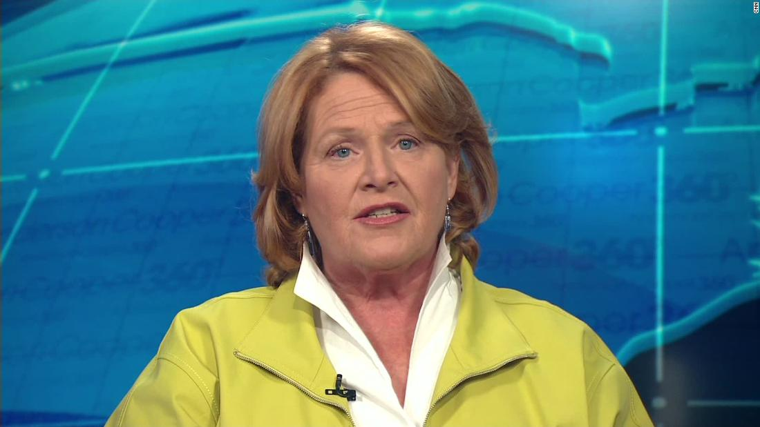 Heidi Heitkamp was ready to vote 'yes' on Kavanaugh. Then she watched him with the sound off.