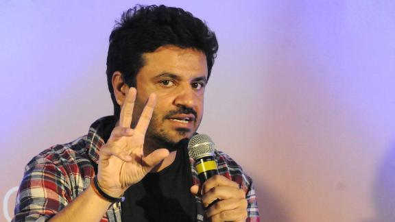 Indian film director, producer and screenwriter Vikas Bahl seen at an event on October 27, 2015 in Gurgaon, India.