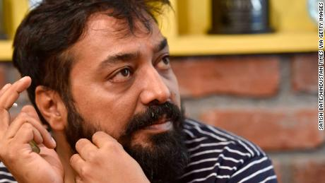 Bollywood filmmaker Anurag Kashyap seen at his office in Oshiwara on May 22, 2016 in Mumbai, India.