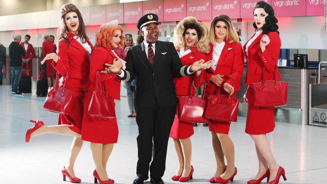 Tickets on sale for Virgin Atlantic's first Pride Flight