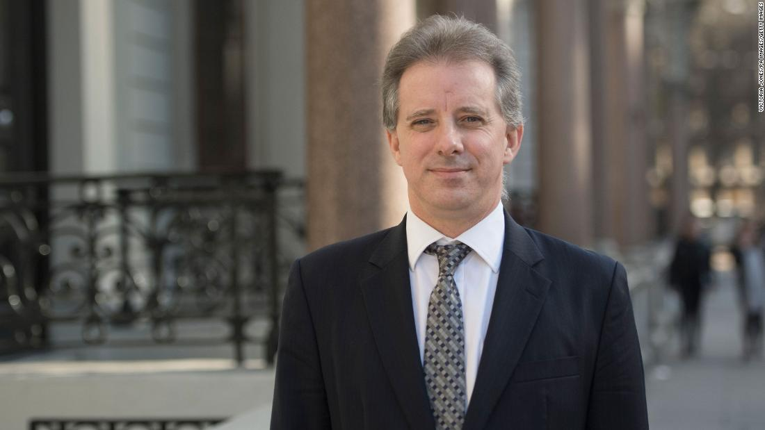 Christopher Steele told additional information about him will be made public with DOJ IG report thumbnail