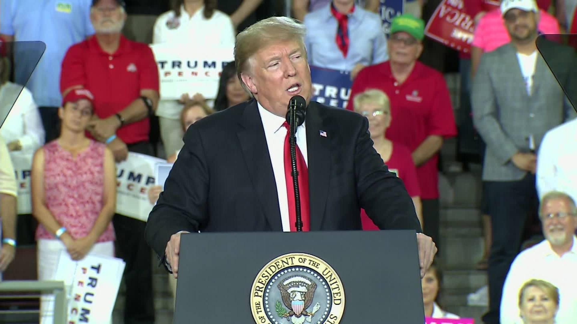 Trump mocks 'rules' of #MeToo movement