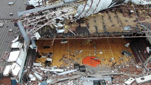 panama city gym destroyed