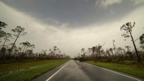 See Perfect Calm In Eye Of Hurricane Michael Cnn Video
