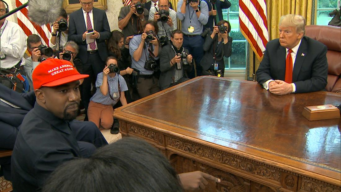 Transcript: Kanye West in the Oval Office