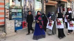 The 28-year-old woman reshaping Afghanistan's politics