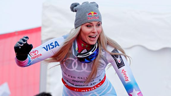 Vonn announced the current ski World Cup season would be her last. She is already the most successful woman in World Cup history with 82 victories and was chasing down Ingemar Stenmark
