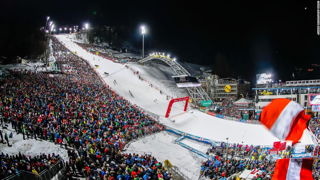 The legendary night slalom in Schladming is another chance for ski racing fans to let their hair down as the competitors challenge for one of the most prestigious prizes in the sport.