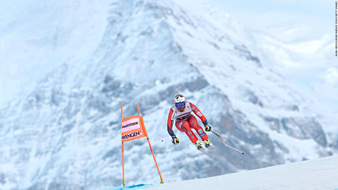 The downhill marathon that is Wengen's Lauberhorn course in the shadow of the Eiger begins January's season of Classic races in the Alps.
