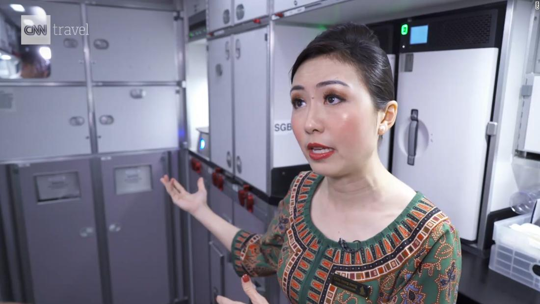 Flight attendant details perks of the A350-900ULR