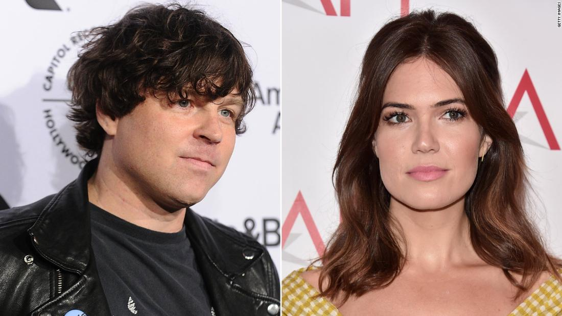 Ryan Adams apologizes for Mandy Moore marriage tweets