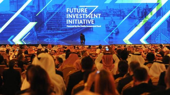 More than 3,500 executives and officials attended the conference in Riyadh last year.