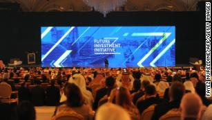 Here's who is still planning to attend Saudi Arabia's big conference