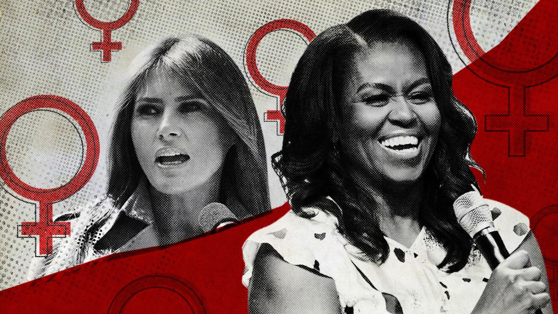 A tale of two first ladies