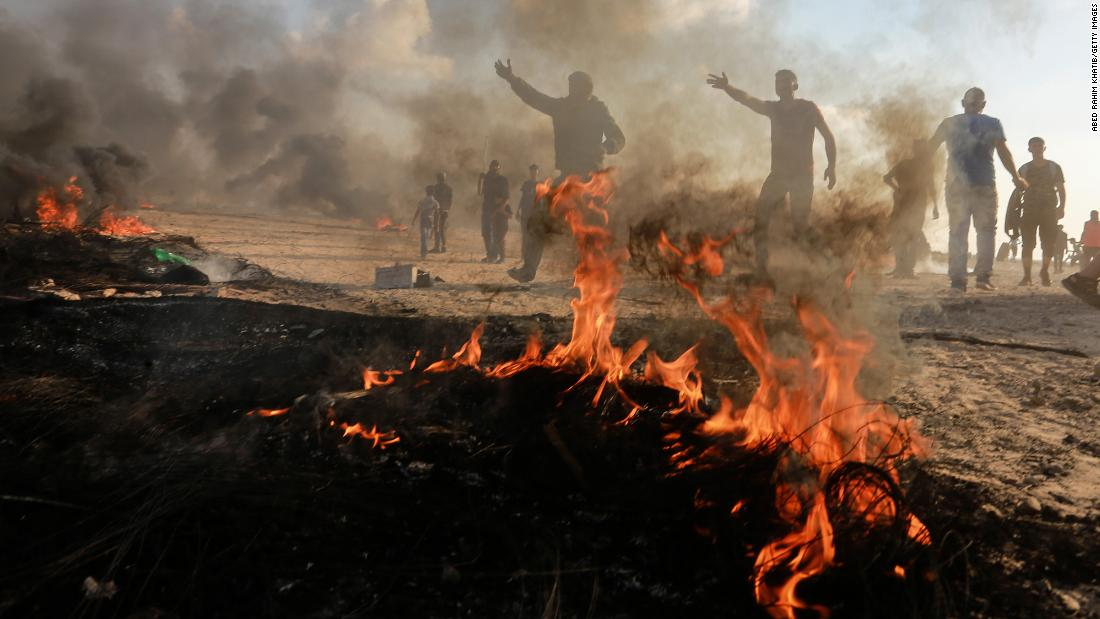 Seven Palestinians shot and killed by Israeli forces during violent Gaza protests
