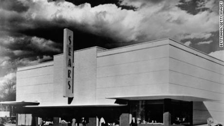 Sears store in Jackson, Mississippi, 1949.