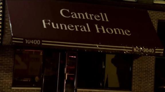 The remains of 11 infants were found at Cantrell Funeral Home in Detroit, Michigan, on Friday, October 12, 2018.